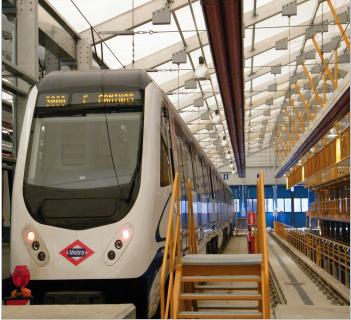 Depou Metrou, Madrid, Spania
