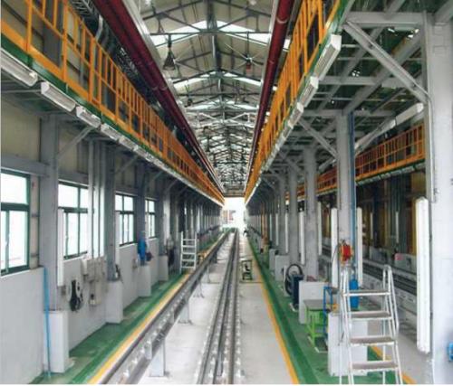 Depou Tren, Coreea de Sud