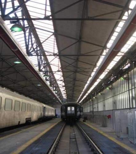 Depou Tren Roma, Italia